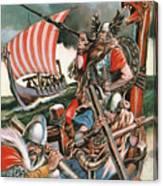 Leif Ericsson, The Viking Who Found America Canvas Print