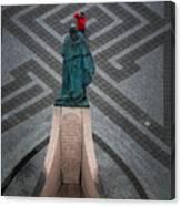 Leifur Eriksson Statue Canvas Print
