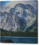 Leigh Lake Canvas Print