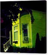 Lemon-drop House Canvas Print