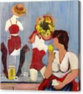 Lemon Eis Canvas Print