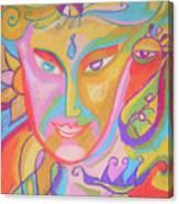 Lemurian Dreamer Canvas Print