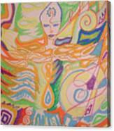 Lemurian Healer Canvas Print