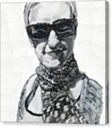 Lena Noble, Portrait Canvas Print
