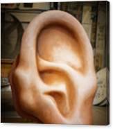 Lend Me An Ear Canvas Print