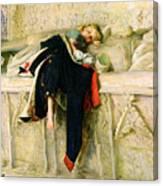 L'enfant Du Regiment Canvas Print