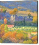 Lengthening Shadows - Tuscany Canvas Print