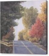 Lengthening Shadows Canvas Print
