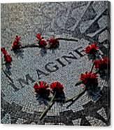 Lennon Memorial Canvas Print