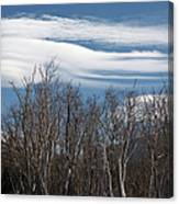 Lenticular Clouds - White Mountains New Hampshire  Canvas Print
