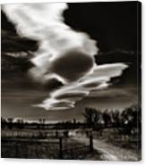 Lenticular Clouds Of Colorado Canvas Print