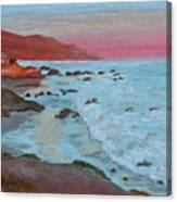 Leo Carillo Beach Afternoon II Canvas Print