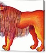 Leo The Lion Canvas Print