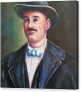 Leonard Mckay Canvas Print