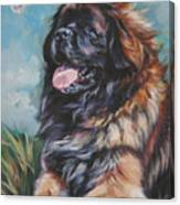 Leonberger Art Print Canvas Print