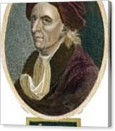 Leonhard Euler, 1707-1783 Canvas Print