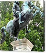 Leopold Statue Canvas Print