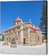 Lerapetra Church Of Saint George Panorama Canvas Print