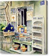 Les Baux Canvas Print