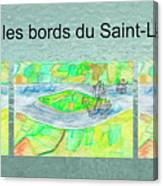 C'est Sur Les Bords Du Saint-laurent Mug Shot Canvas Print