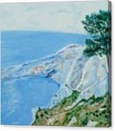 Les Calanques De Sujeton . Canvas Print