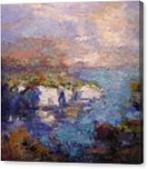 Les Calanques In Bright Light IIi Canvas Print