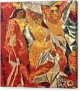 Les Demoiselles D'avignon Canvas Print