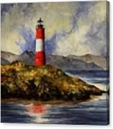 Les Eclaireurs Lighthouse Canvas Print