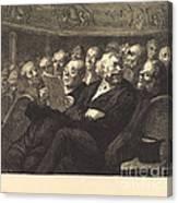 Les Fauteuils D'orchestre Canvas Print