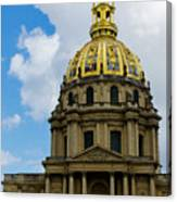 Les Invalides Canvas Print