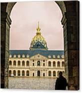 Les Invalides Paris Canvas Print