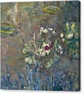 Les Nympheas Canvas Print