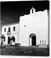 Fortified Church, Formentera Canvas Print