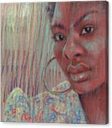 Leslie K Canvas Print
