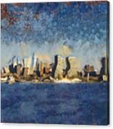 Less Wacky Philly Skyline Canvas Print