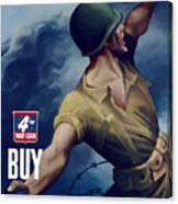 Let Em Have It - Buy Extra Bonds Canvas Print