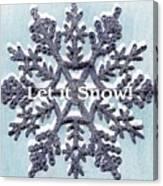 Let It Snow 2 Canvas Print