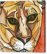 Let The Lioness Arise Canvas Print