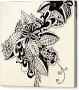 Let Your Pen Flow Canvas Print