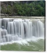 Letchworth Falls Sp Lower Falls Canvas Print