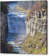 Letchworth Middle Falls Canvas Print