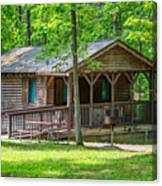 Letchworth State Park Cabin Canvas Print