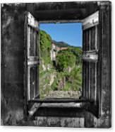 Let's Open The Windows - Apriamo Le Finestre Canvas Print