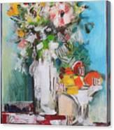 Letter Bouquet Canvas Print