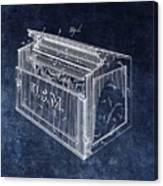 Letter Box Patent Canvas Print