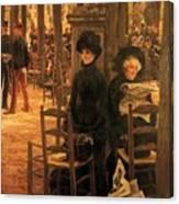 Letter L With Hats Jacques Joseph Tissot Canvas Print