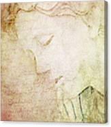 Lettre A Mon Amour Canvas Print