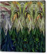 Lettuce Greens Radish Forest Canvas Print
