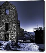 Levant Mine In Blue Canvas Print