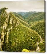Leven Canyon Reserve Tasmania Canvas Print